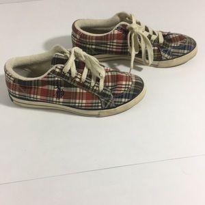 Polo plaid shoes